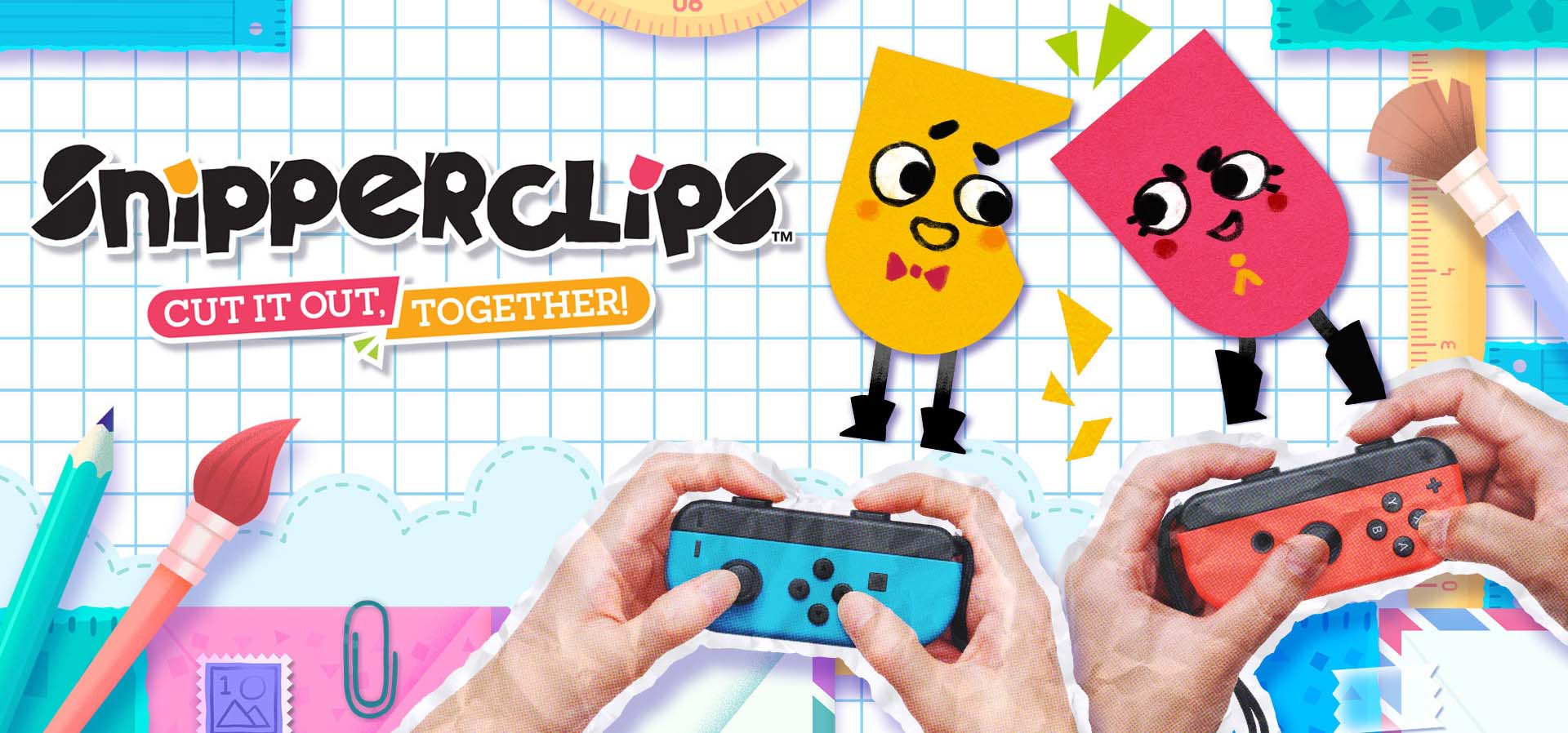 Snipperclips Cut it out together Nintendo Switch