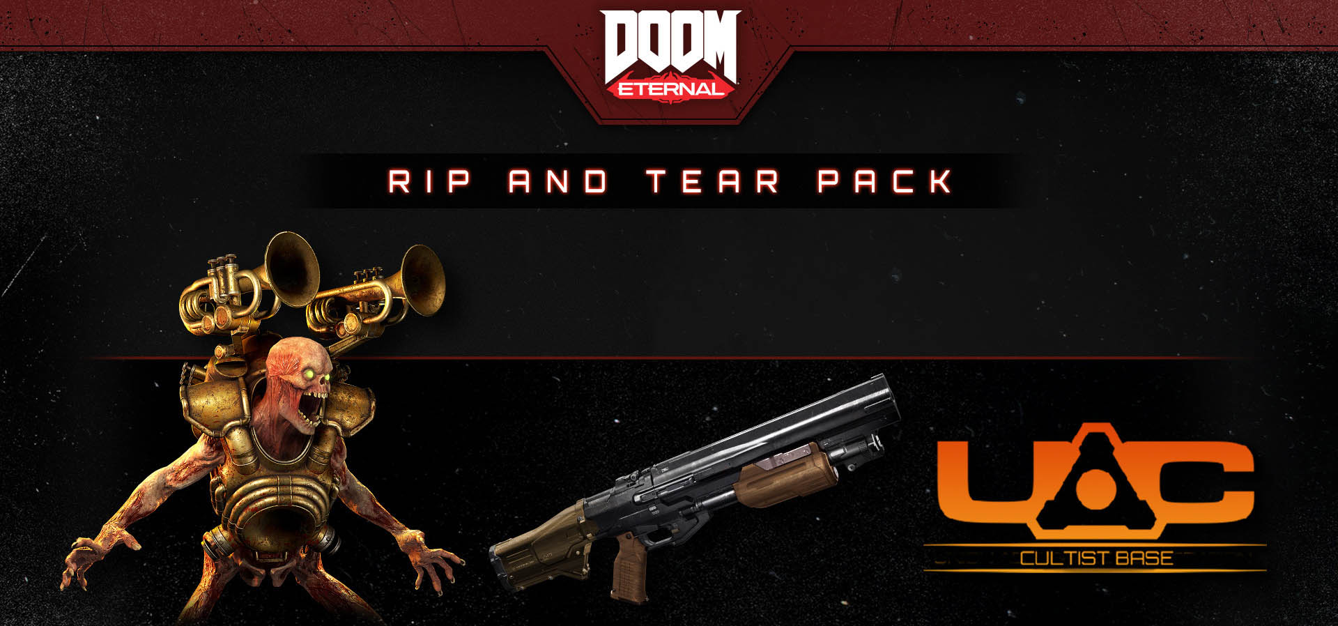 DOOM Eternal Rip and Tear Pack Nintendo Switch