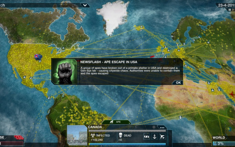 how to know if everyone is infected in plague inc