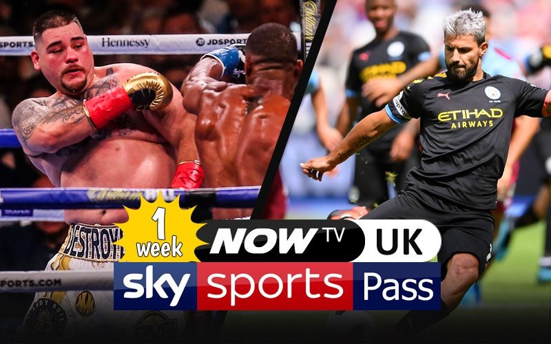 1 Week NOW TV Sky Sports UK Pass