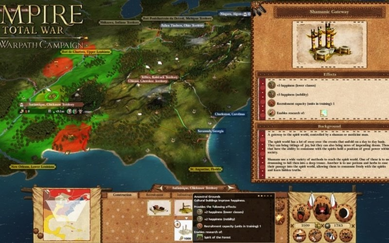 Empire: Total War™ - The Warpath Campaign