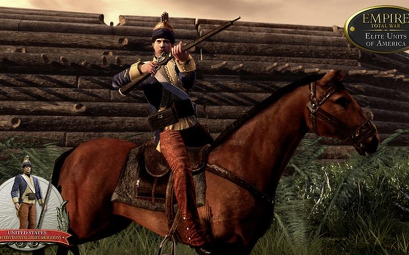 Empire: Total War - Elite Units of America