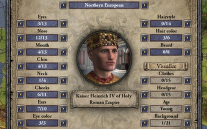 Crusader Kings  Free Ruler Designer