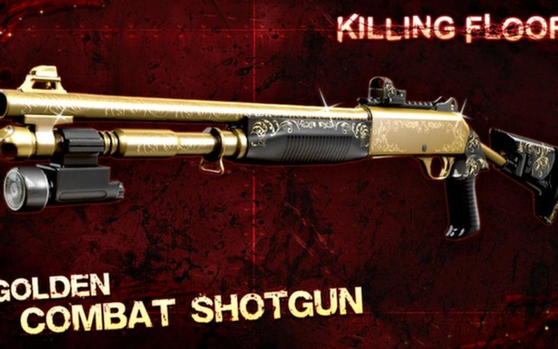 Killing Floor - Golden Weapons Pack
