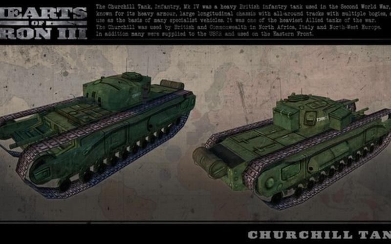 Hearts of Iron III: British Vehicle Spritepack