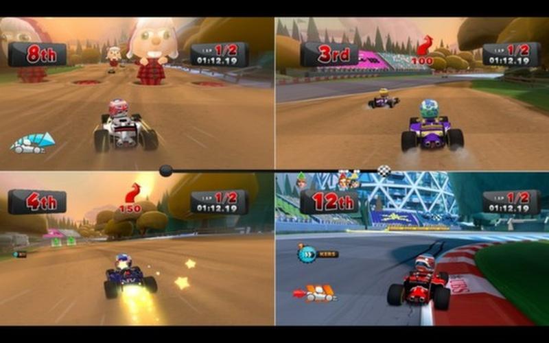F1 Race Stars - Canada Track