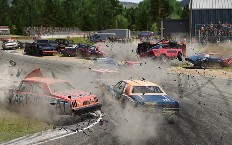 wreckfest on steam pc game hrk game. Black Bedroom Furniture Sets. Home Design Ideas
