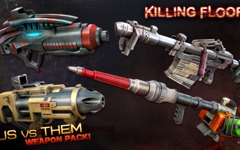 Killing Floor Community Weapons Pack 3 Us Versus Them