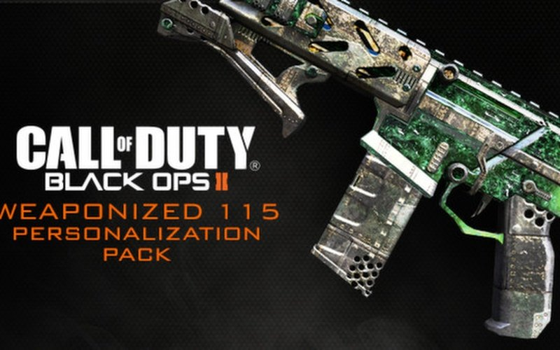 Call of Duty: Black Ops II - Weaponized 115 Personalization Pack