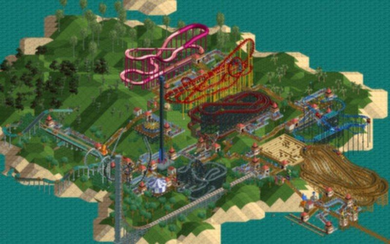 RollerCoaster Tycoon®: Deluxe on Steam - PC Game | HRK Game