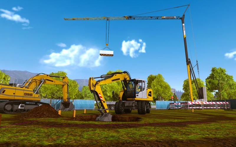 Construction simulator 2015 sur steam jeu pc hrk game - Pelleteuse simulator gratuit ...