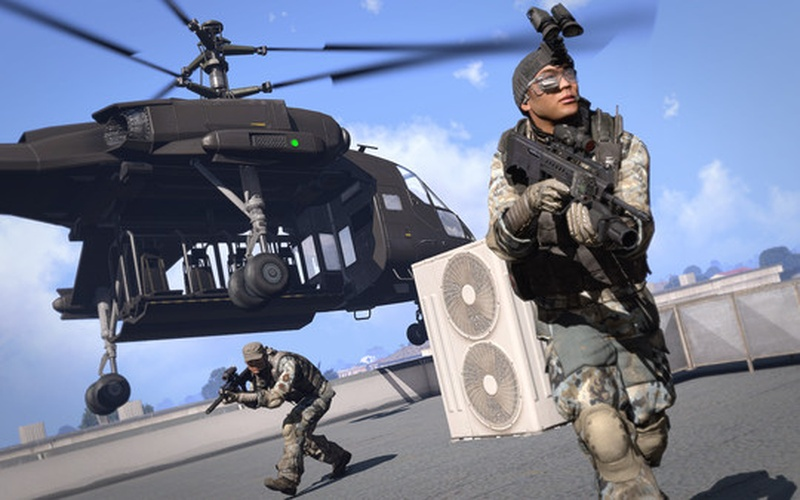 Arma 3 Helicopters