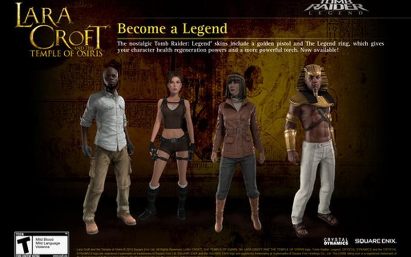 Lara Croft and the Temple of Osiris - Legend Pack