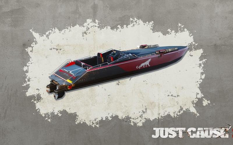Just Cause 3 - Mini-Gun Racing Boat