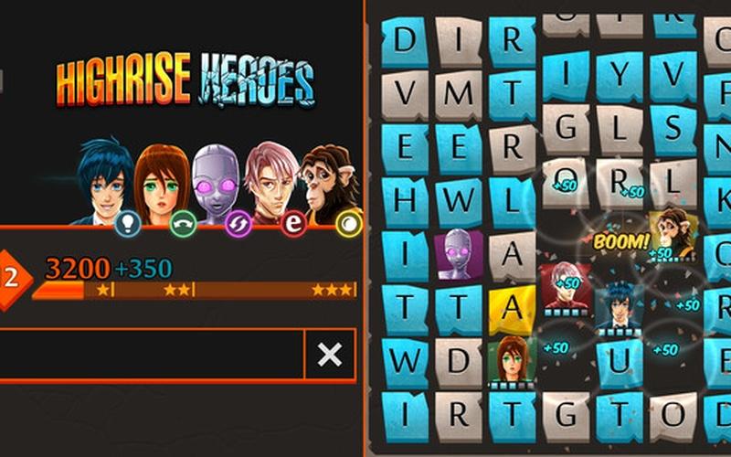 Highrise Heroes: Word Challenge