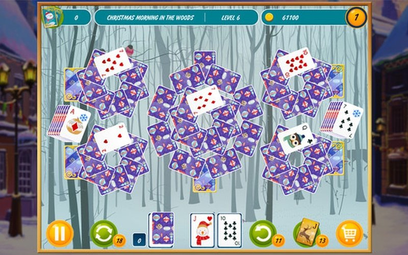 match 2 cards solitaire christmas - Solitaire Christmas