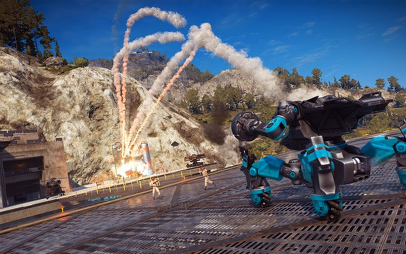 Just Cause 3 DLC: Reaper Missile Mech