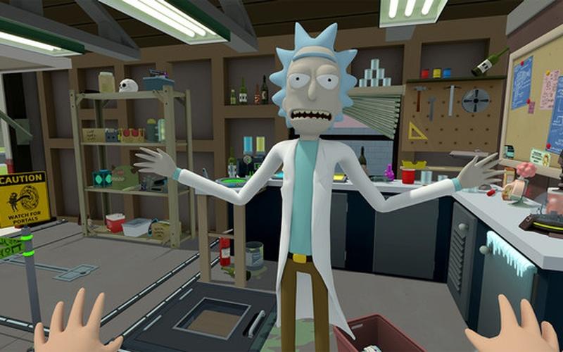 Rick and Morty: Virtual Rick-ality VR EUROPE