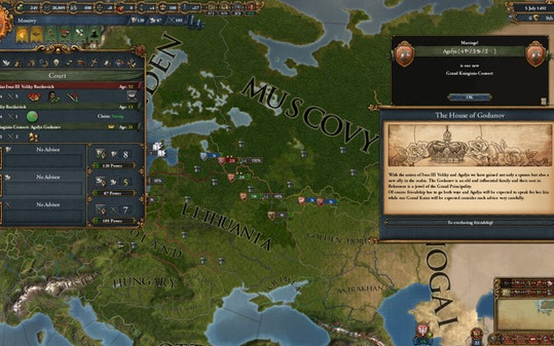 Europa Universalis IV: Songs of Regency