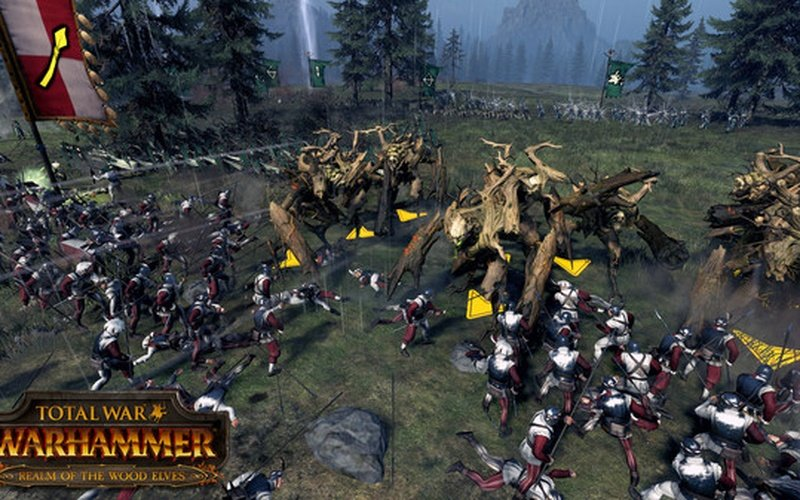 Total War: WARHAMMER - Realm of The Wood Elves Europe