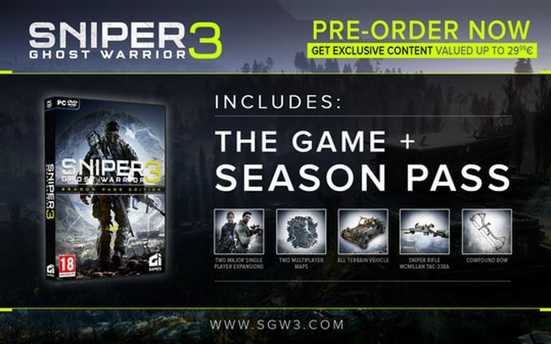 Sniper Ghost Warrior 3 - Season Pass DLC