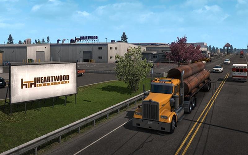 american truck simulator oregon auf steam pc spiele. Black Bedroom Furniture Sets. Home Design Ideas