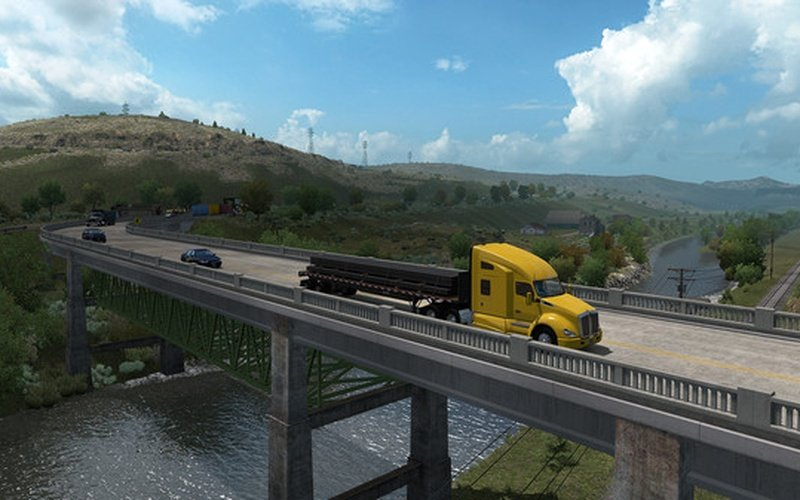 american truck simulator oregon on steam pc game hrk. Black Bedroom Furniture Sets. Home Design Ideas