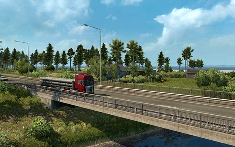 euro truck simulator 2 beyond the baltic sea su steam. Black Bedroom Furniture Sets. Home Design Ideas
