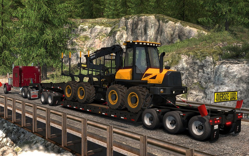 American Truck Simulator - Forest Machinery