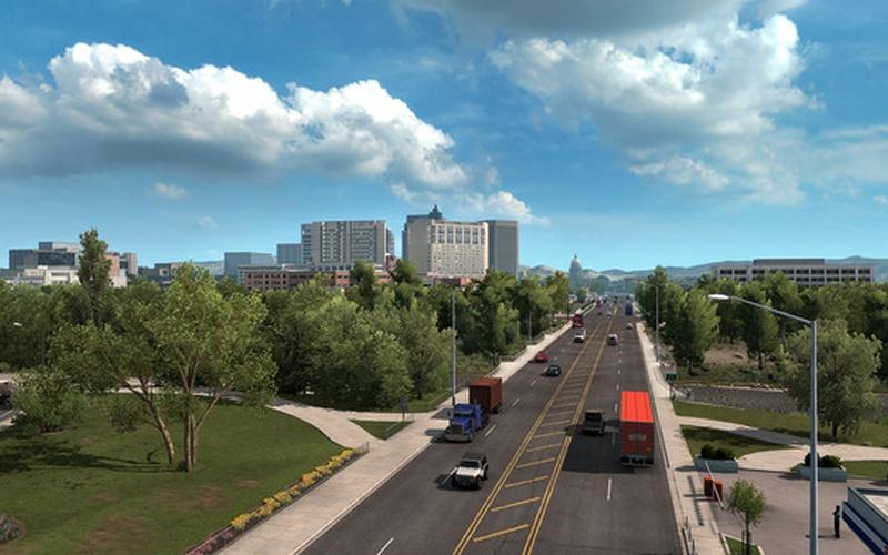 American Truck Simulator - Idaho EUROPE