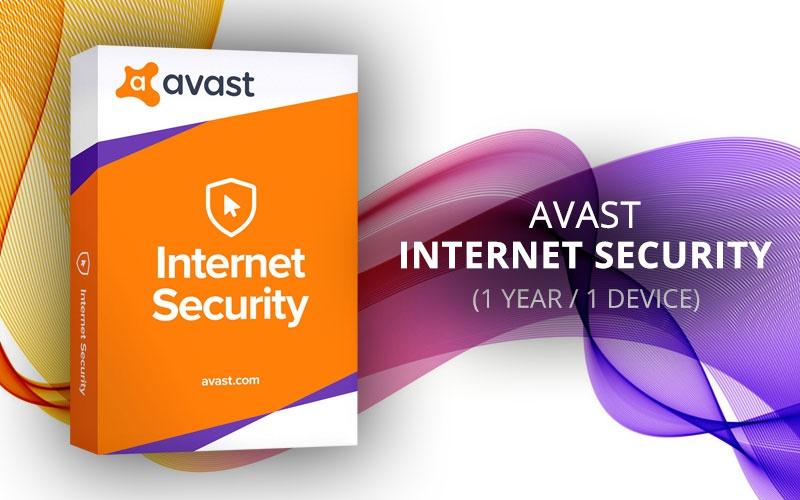 AVAST Internet Security 1 Device 1 Year