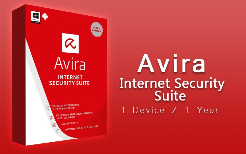 Avira Internet Security Suite - 1 Device / 1 Year