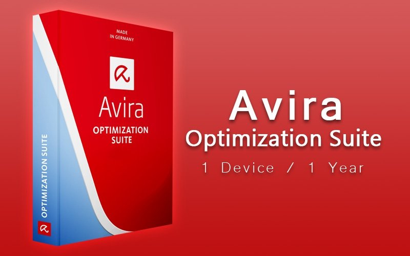 Avira Optimization Suite - 1 Device / 1 Year