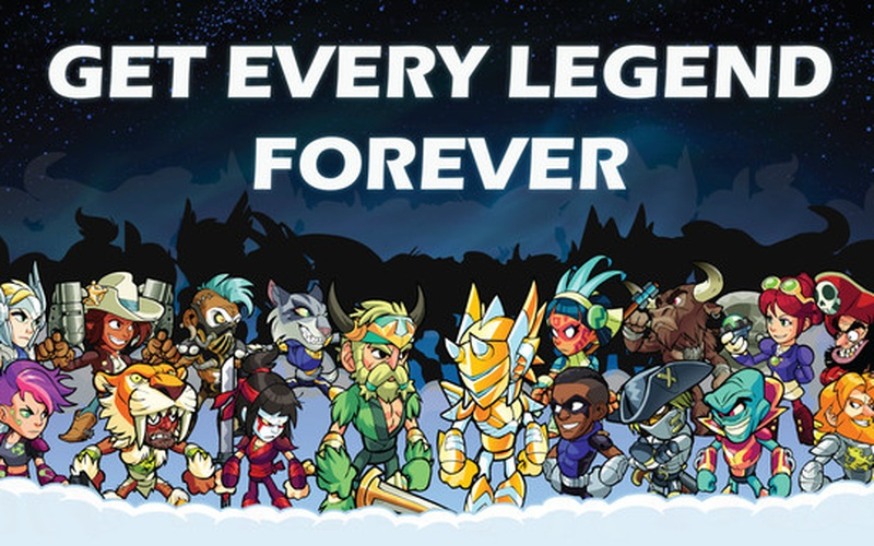 Brawlhalla - All Legends Pack (Current and Future)