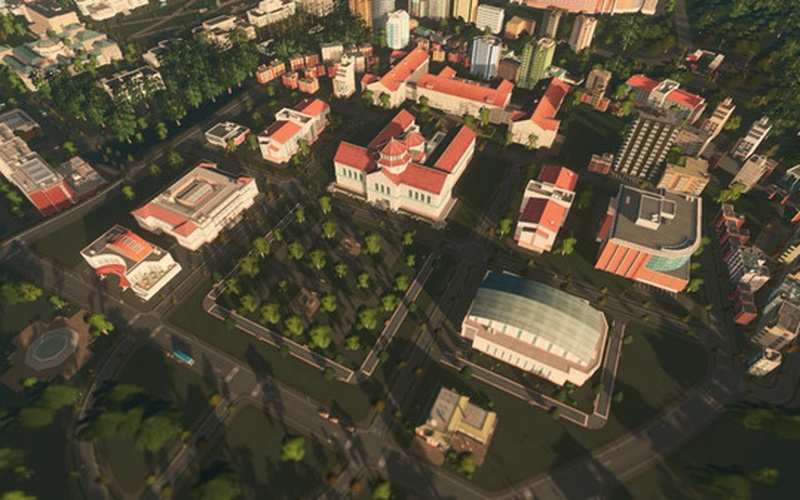 Cities: Skylines - Campus Radio