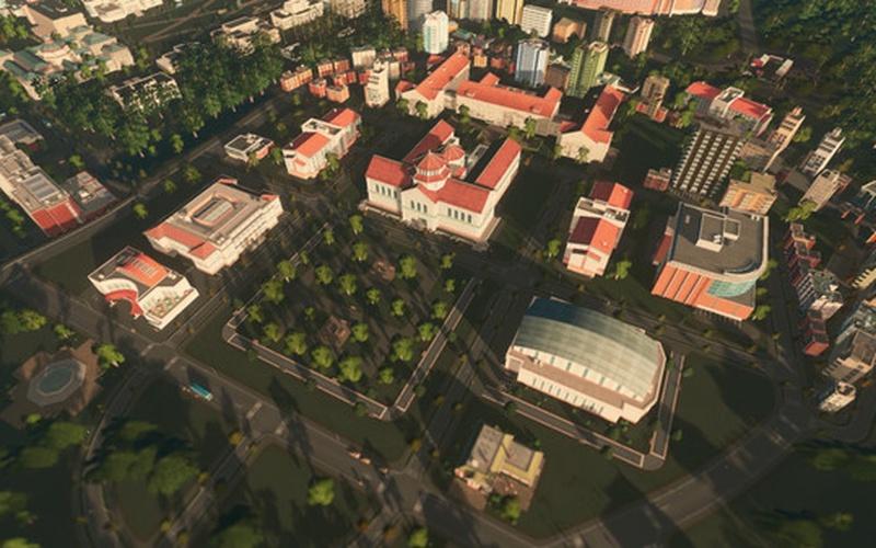 Cities: Skylines - Campus EUROPE