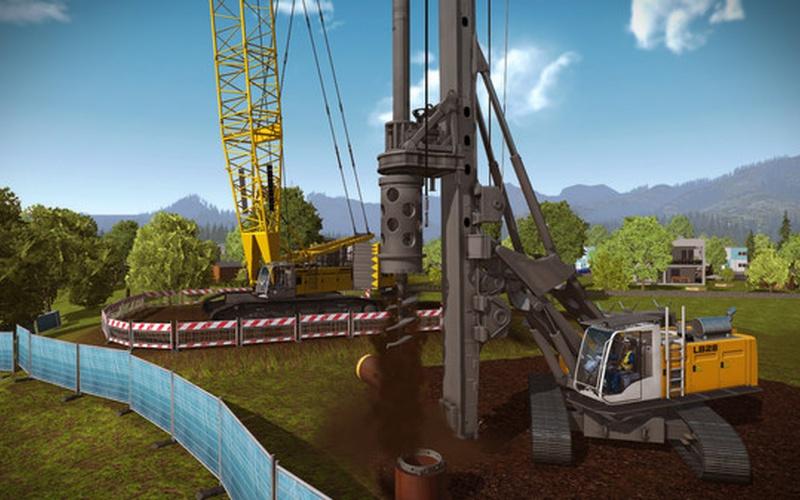 Construction Simulator 2015: Liebherr LR 1300