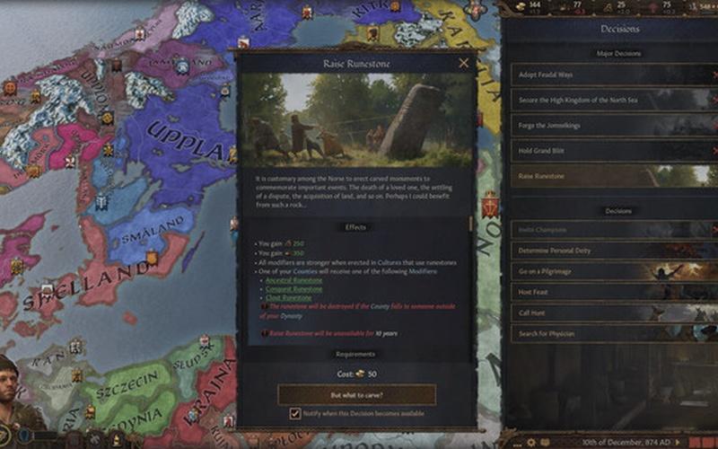 Crusader Kings III: Northern Lords EUROPE