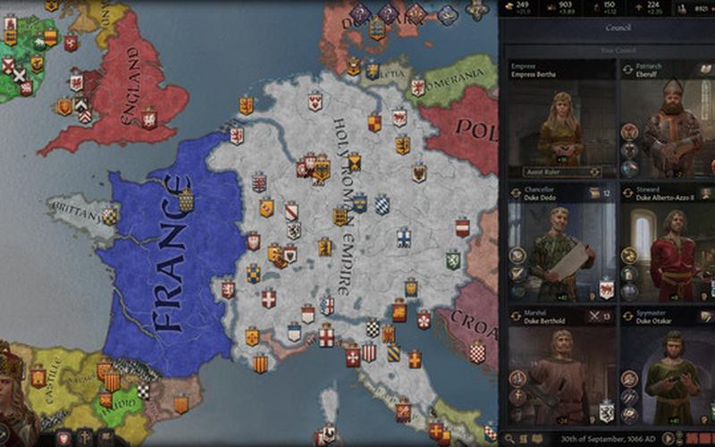 Crusader Kings III EUROPE