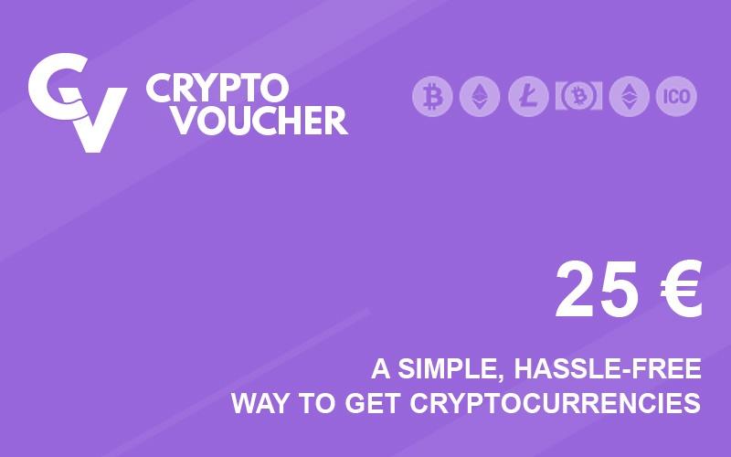 Crypto Voucher 25 EUR Prepaid Key