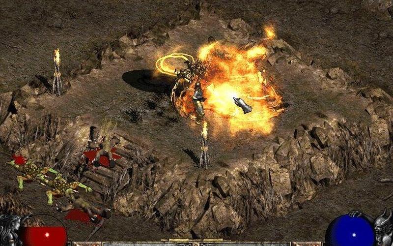 Diablo ii lord of destruction on battlenet pc game - Diablo 2 lord of destruction wallpaper ...