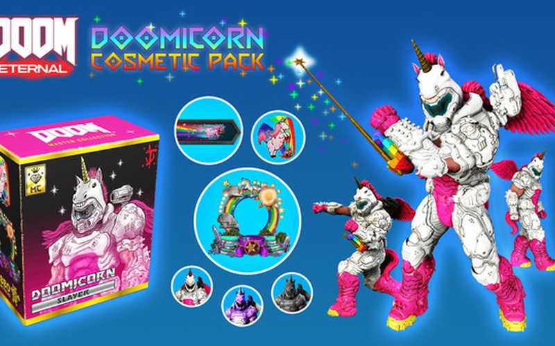 DOOMicorn Master Collection Cosmetic Pack Nintendo Switch