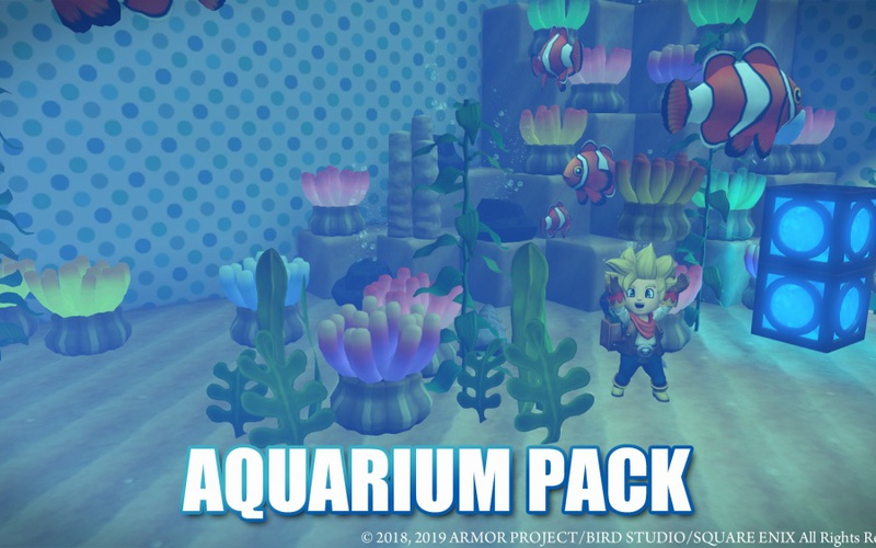 DRAGON QUEST BUILDERS 2 - Aquarium Pack Nintendo Switch