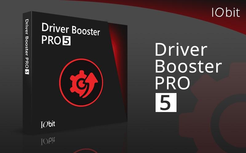 Driver Booster 5 PRO IObit 1 Year 3 PCs