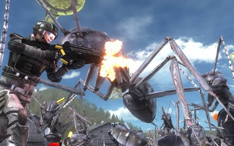 EARTH DEFENSE FORCE 5 EUROPE