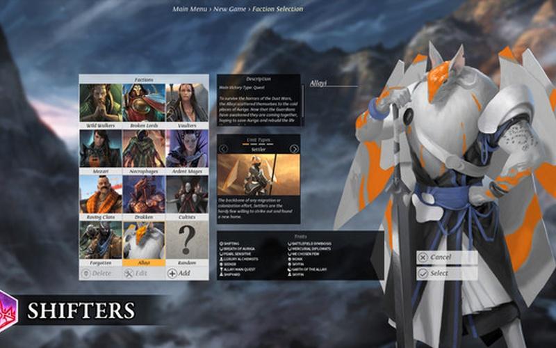 Endless Legend-Shifters