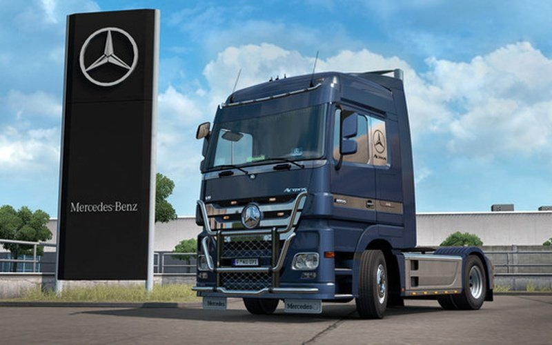Euro Truck Simulator 2 - Actros Tuning Pack