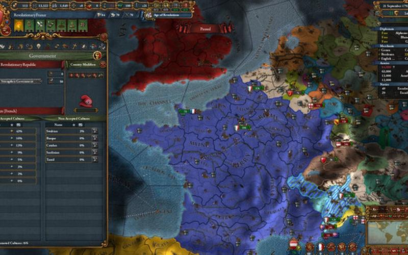Europa Universalis IV: Emperor EUROPE