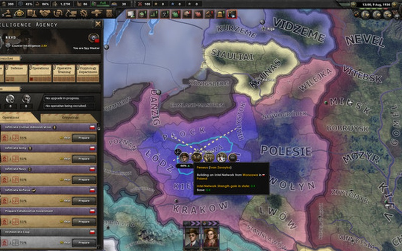 Hearts of Iron IV: La Résistance EUROPE