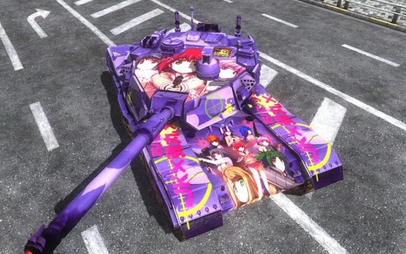 Gigantus Tank, Bullet Girls Marking